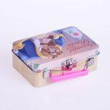 金属の香水および金属の装飾的な包装のためのハンドルが付いているカスタム錫ボックス