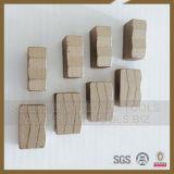 Los segmentos de diamante Herramientas para el corte de Granito de piedra
