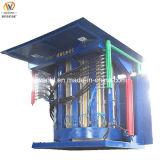 Acier lourd coquille fonte en aluminium moyenne fréquence électrique four à induction
