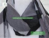 方法女性European Scarf 100%ビスコース多彩な格子縞のイスラム教のショール