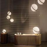 Leebroom decorativa lámpara colgante bola moderna iluminación colgante