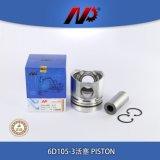 KOMATSU 6D105-3 건축기계 소형 파는 사람 엔진 부품 피스톤 링