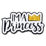 Carta de venta al por mayor de Esmalte Duro Princesa personalizado insignia de solapa