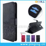 Wallet cubierta protectora de cuero para Samsung Galaxy S8 Edge
