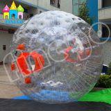 Finego Belüftung-aufblasbare Gras-Kugel-Karosserien-Luftblasen-Kugel-Fußball-Walzen Moonwalker Zorb Kugel