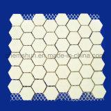 Высокая плотность глинозема с шестигранной головкой и коврик плиткой как керамические гильзы цилиндра