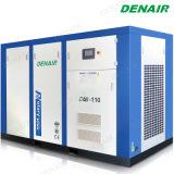 Compresor Doble Refrescado/de Enfriamiento del Aire Industrial del Motor Eléctrico del Tornillo de Aire