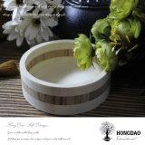 Palette en bois ronde faite sur commande Wholesale_C d'étalage de Hongdao mini