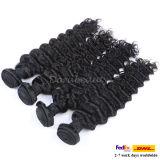 卸し売り自然なブラジルの毛は人間の毛髪を束ねる