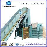 Hallo Ballenpreßautomatische horizontale Altpapier-Presse-emballierenmaschine Hfa6-8