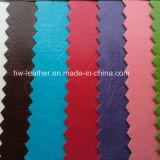 Umweltfreundliches Änderungs-Farbe PU-Leder für Notizbuch deckt Hw-1419 ab