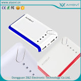Heiße Selling 5.0V 2.1A Highquality Traveling Power Bank mit Cer, FCC, RoHS 11000 Milliamperestunde