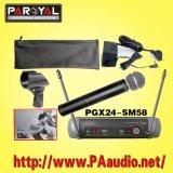 (De microphone sans fil PGX24/SM58)