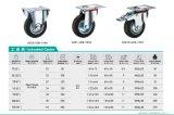 3-8 Zoll-industrielles Gummifußrollen-Rad