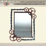Un design unique en métal magnétique miroir au mur pour salle de bains (LX1210465)