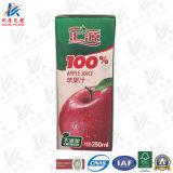 250 ml nehmen aseptischen Ziegelstein-Saft-Karton ab