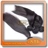 Malaysian人間の毛髪Extensionの毛Weft