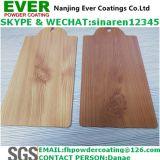 Revêtement en poudre de texture de grain de sublimation en bois
