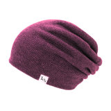 Hip Hop-schwarzer Beanie gestrickte preiswerte Winter-Schutzkappe und Hut