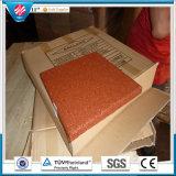 De vierkante RubberTegels van de Tegel van de Fabriek van de Mat van het Hotel van de Tegel Rubber Rubber Directe Openlucht Rubber Antislip Rubber