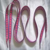 Напечатанные полные шнурки логоса