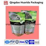 Embalagem de impressão colorida Laminação Plástica De pé Alimentos para animais de estimação