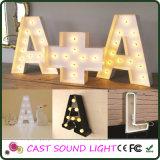 Segno alla moda della lettera LED metallo/dell'acrilico