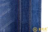 Tessuto blu scuro del denim dell'indaco