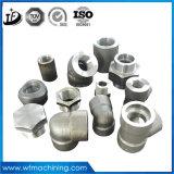 Porca/parafuso/eixo/luva/anel/ferragem do forjamento do aço de carbono da forja de China
