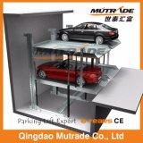 De PostGarage van de Lift van de Auto van het Systeem van het Parkeren van Kuil twee Hydraulische Auto voor ondergronds