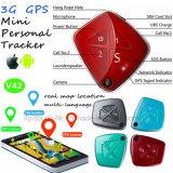 pendente portatile dell'inseguitore di 3G mini GPS con con l'allarme V42 di caduta
