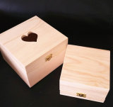 Casella di legno Heart-Shaped