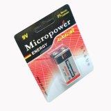 Батарея 9V/6lr61 хорошего качества алкалическая
