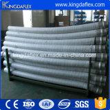 Mangueira de bombeamento de concreto armado de aço inoxidável de tecido abrasivo