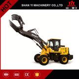 De Compacte Tractor van de Apparatuur van de bouw 4X4 met Lader