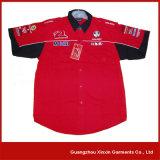 Fabricante curto feito-à-medida da camisa da luva (S38)