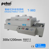 Nuovo forno T960W, forno di riflusso di SMT, macchina di saldatura di riflusso di sorgente luminosa del LED del PWB