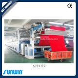 Tipo horizontal máquina do trilho de Stenter do ajuste do calor