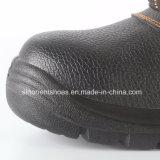 De industriële Schoenen van de Veiligheid van het Leer met Ce- Certificaat Snb1070