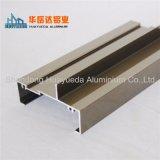 Perfiles de aluminio para puertas correderas/perfiles de extrusión de aluminio
