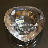 Изысканные в форме сердечка чай лампа в форме свечи Crystal держатель