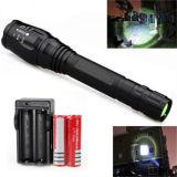 12000lm Xml T6 LED 플래쉬 등 토치 Zoomable 최고 밝은 5 최빈값 가벼운 램프