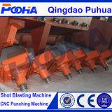 Hakenförmige Maschine des Granaliengebläse-Q37