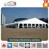 40m grande tente en aluminium imperméable à l'eau et ignifuge pour le salon et l'exposition