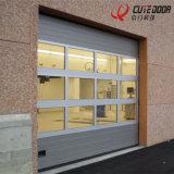 Porta comercial da perspetiva da garagem transparente secional da alta qualidade