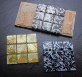 壁ペーパー印刷のガラスモザイク・タイル