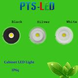 Luz de techo de 3W Dentro COB LED LED abajo para la iluminación del gabinete