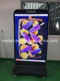 Publicidad LED al aire libre con pantalla de control de WiFi 3G