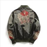 Broderieの緩い服装の人の衣服のための長い袖のジャケット