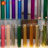 プラスチックのための多彩で熱い押すホイルの使用